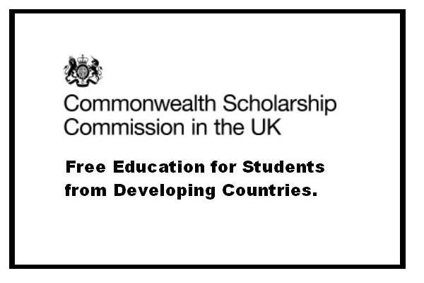 Commonwealth Scholarship UK 2018