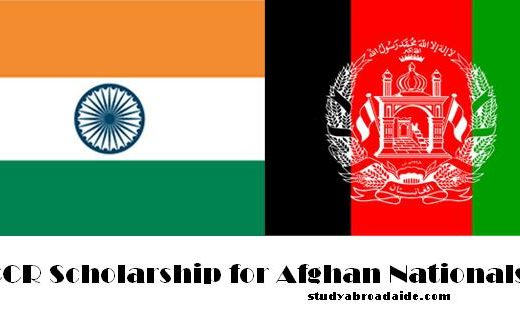 ICCR Scholarship for Afghan Nationals