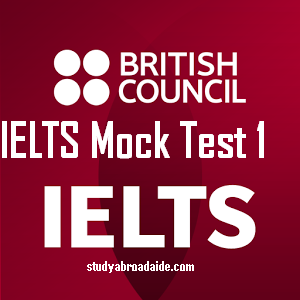 IELTS Mock Test 1