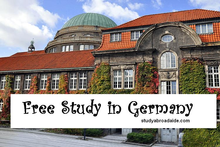 Free Study in Germany