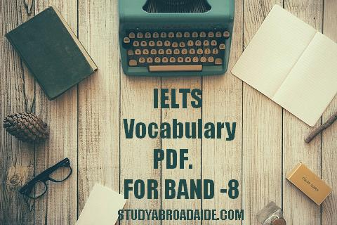 IELTS Vocabulary pdf