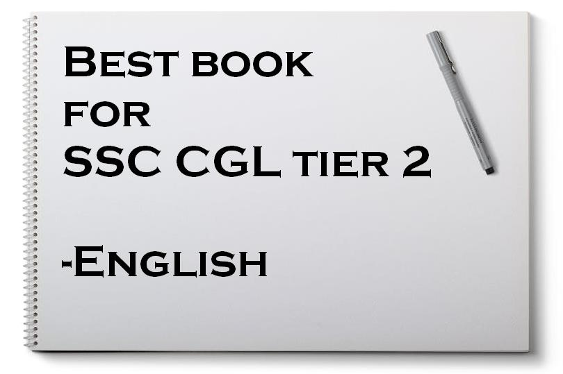 Best book for SSC CGL tier 2 English