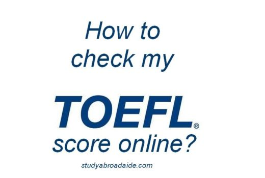 How to check my TOEFL score online