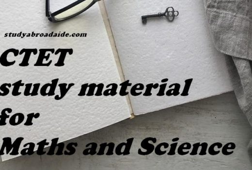 CTET study material for Maths and Science