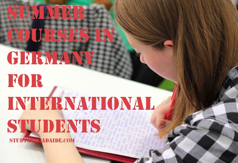 Summer courses in Germany for International Students
