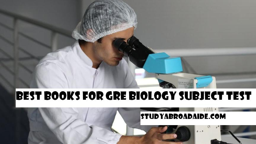 Best books for GRE Biology subject test