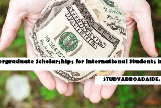 Undergraduate Scholarships for International Students in USA