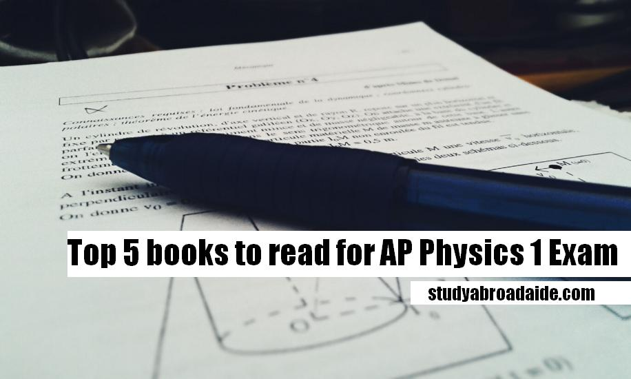 Top 5 books to read for AP Physics 1:Algebra-Based Exam | UPDATE