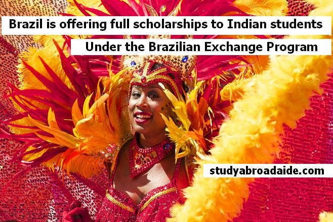 Brazilian Scholarships for Indian Students 2019