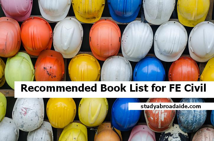 Recommended Book List for FE Civil