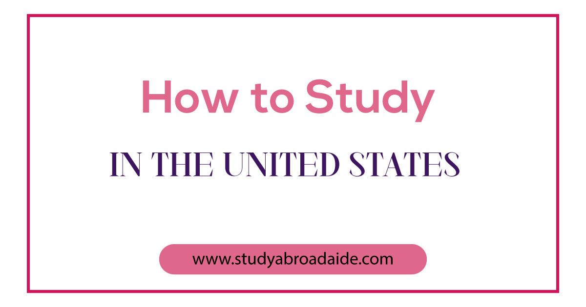 Study in United States