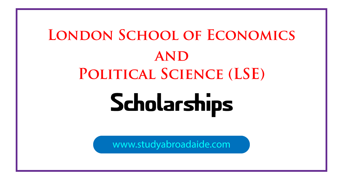 London School of Economics and Political Science (LSE) Scholarships