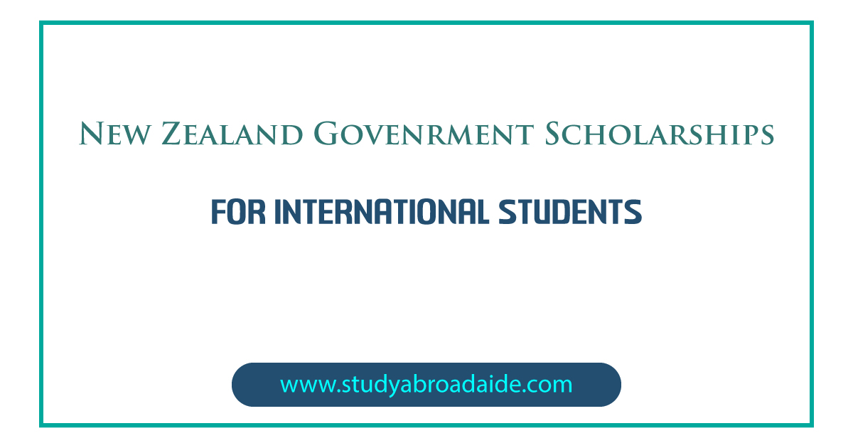 New Zealand Government Scholarships for International Students